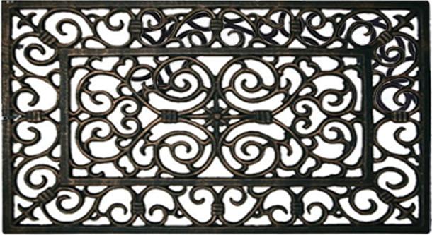 Wrought Iron Door Mat